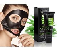 Черная маска-пленка с Алое Pretty Cowry 92% Aloe Vera Black (5573), 100 ml