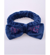 Milushka / Повязка для волос OMG синий