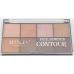 Manley Beauty Face Contour Powder Palette Палетка для Скульптурирования 8 Оттенков тон 3