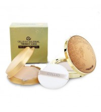 Компактная пудра для лица Cellio Ex Gold Snail TWO-WAY Cake 13 тон SPF 30 PA++Y