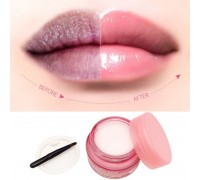Ночная маска для губ увлажнение и восстановление BIOAQUA Lip Sleeping Mask (20г)( с кисточкой для нанесения)