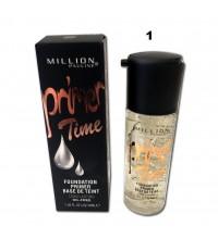 Million Pauline, Праймер для лица Primer Time с шиммером №01, 40 мл