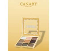 Тени для век DoDo Girl 9 цветов CANARY, (03)