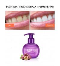 """Images Гелевая отбеливающая зубная паста со вкусом Маракуйи, защита от образования зубного камня"""", 200 гр."""