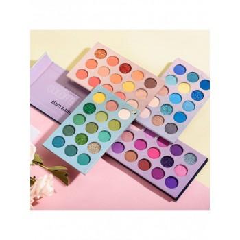 Beauty Glazed Тени для век Color board 4 в 1 Beauty Glazed