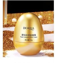 Bioaqua Крем-маска для лица с коллагеном Yeast Collagen Mask Cream, 30гр.