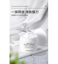 LUOFMISS Очищающая маска с аминокислотами и белой глиной, 120гр.