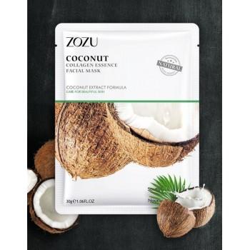 ZOZU Многофункциональная тканевая маска для лица с экстрактом кокоса