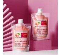 EXGYAN Скраб для тела c абрикосом Body Scrub Skin Peach 300гр.