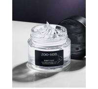 ZOO-SON Ночная несмываемая маска на основе ласточкиного гнезда, 100мл.