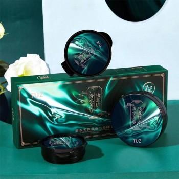 TUZ Кушон увлажняющий, матирующий в подарочной упаковке 1+2 запаски, 01(слоновая кость)