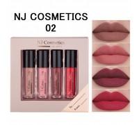 NJ Подарочный набор матовых блесков для губ , 02
