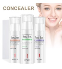 Защитная база под макияж Venzen Beauty Cover (фиолетовая)