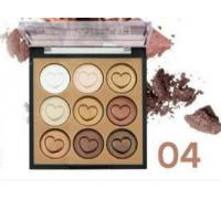 Тени Do Do Girl Matte Eyeshadow D3056 ( 9 цветов ) тон 4