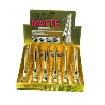 Подводка для глаз Karite Matte Eyeliner waterproof