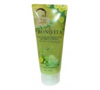 BONVITA Очищающий скраб-гель для лица Cucumber Essence, 120г (Огурец)