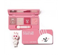 Тени для век Missha Line Friends Edition Eye Color Studio Mini Заяц