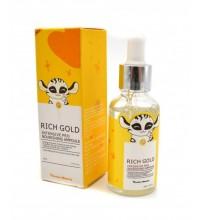 Endow Beauty Сыворотка для лица частицами золота с лифтинг эффектом RICH GOLD 30мл