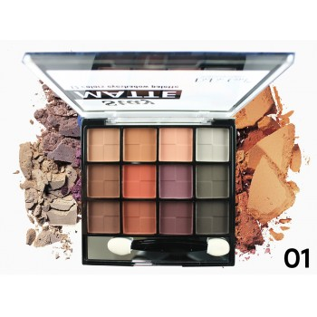 Тени Do Do Girl Matte Eyeshadow D3018 (12 цветов ) тон 01
