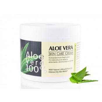 Успокаивающий и увлажняющий крем для лица с Алое Вера Wokali Aloe Vera Skin Care Cream 100%