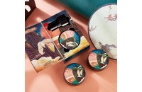 TUZ Легкий увлажняющий крем-кушон для лица в подарочной упаковке, 01(слоновая кость)