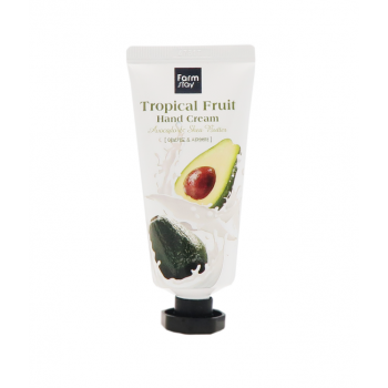 Farm Stay Tropical Fruit Avocado & Shea Butter 50ml, Крем для рук авокадо масло ши
