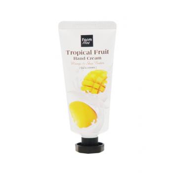 Farm Stay Tropical Fruit Mango & Shea Butter 50ml, Крем для рук манго и масло ши