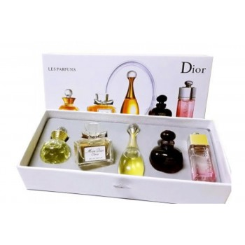 Подарочный набор 5в1 Dior les parfums 5 х 5 мл