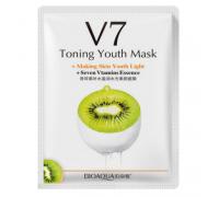 Витаминная маска «BIOAQUA» из серии V7 с экстрактом киви