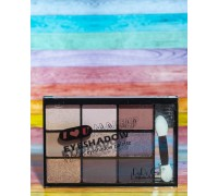 Тени для век с зеркалом DoDo Girl 9 цветов,(02)