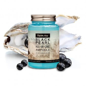 Ампульная сыворотка для лица с черным жемчугом FarmStay Black Pearl All-In One Ampoule