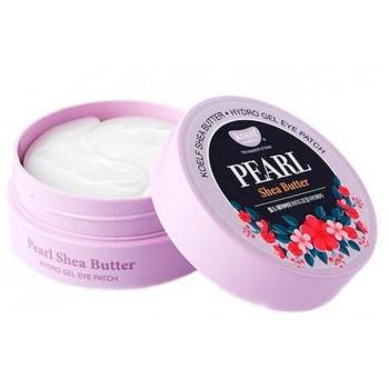 Гидрогелевые патчи для глаз с маслом ши и жемчугом Petitfee Koelf Pearl & Shea Butter Eye Patch