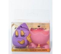 Спонж для макияжа с подставкой TOP CHOICE, 12