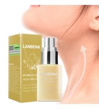 Увлажняющий лифтинг крем для шеи против морщин LANBENA