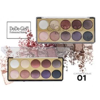 Запеченные тени для век DoDo Girl Diamond,01
