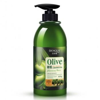 Эластин для укладки волос с оливками BioAqua Olive Elastin, 400