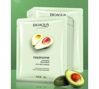 Увлажняющая тканевая маска с маслом ши и авокадо BioAqua