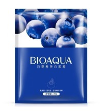 Bioaqua Увлажняющая маска для лица с черникой Blueberry Facial Mask