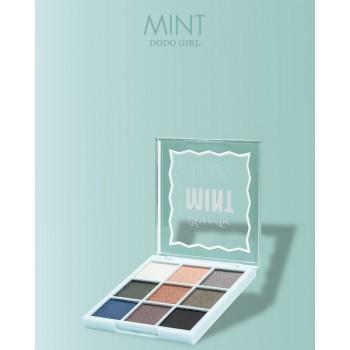 Тени для век DoDo Girl 9 цветов MINT,(02)