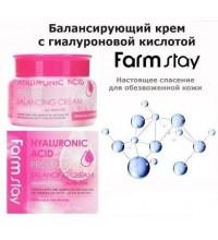 Балансирующий крем с гиалуроновой кислотой FarmStay, 100мл. 100% KOREA.