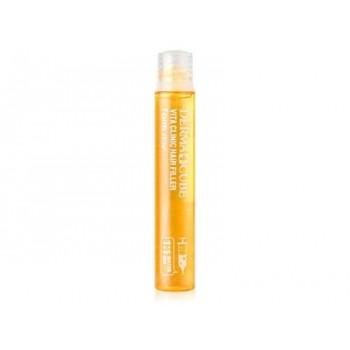 Витаминный филлер для волос FarmStay Derma Cube Vita Clinic Hair Filler, 13мл. 100% KOREA.