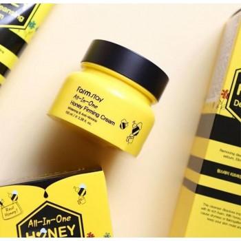 Укрепляющий крем для лица с экстрактом меда FarmStay, 100мл.