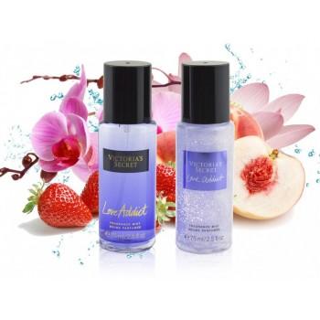 Подарочный набор Victoria's Secret Love Addict Shimmer 2 шт 75 ml