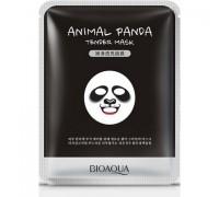 Bioaqua Смягчающая маска для лица Animal Face Panda, 30ГР