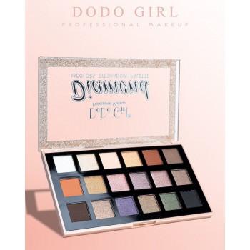 DoDo Girl Тени для век Diamond Eyeshadow