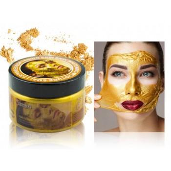 Wokali Многофункциональная маска для лица с коллагеном, золотыми частицами, муцином улитки, 300гр.