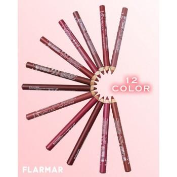 Flormar Набор водостойких карандашей для контура губ