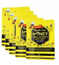 FarmStay Visible Difference Mask Sheet тканевая маска с медом и прополисом