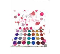 Палетка глиттеров для век Beauty Creations Splash of Glitters