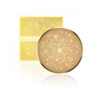 Enough Пудра компактная ЗОЛОТОЙ ПОРОШОК с запасным блоком Тон 13 Secret Gold Powdery UV Pact SPF 50/PA++
